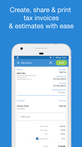 Book Keeper – Accounting GST Invoicing Inventory v8.9.8 screenshots 2