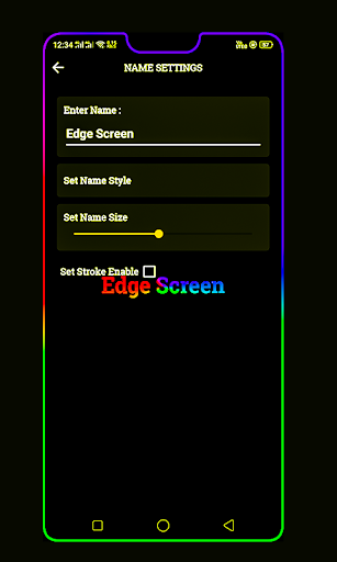 BorderLight – Edge Live Wallpaper v1.2 screenshots 1