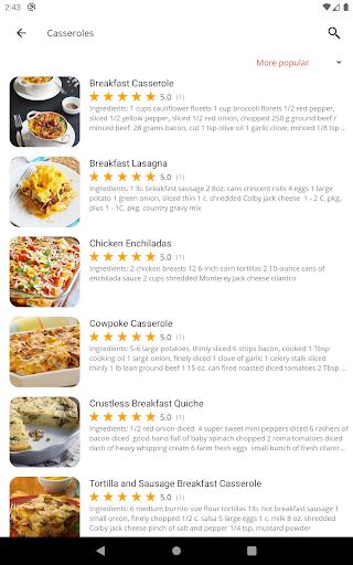 Breakfast Recipes v5.25 screenshots 11