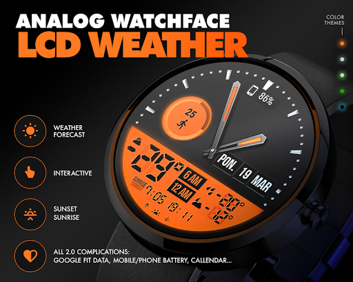 ByssWeather for Wear OS v2.6.1.2 screenshots 1