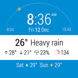 ByssWeather for Wear OS v2.6.1.2 screenshots 12