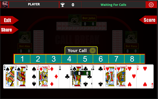 Call Break Card Game -Online Multiplayer Callbreak v20210215 screenshots 9