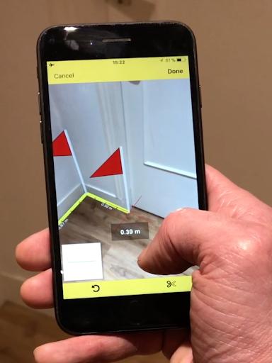CamToPlan – AR measurement tape measure v3.4.3 screenshots 1