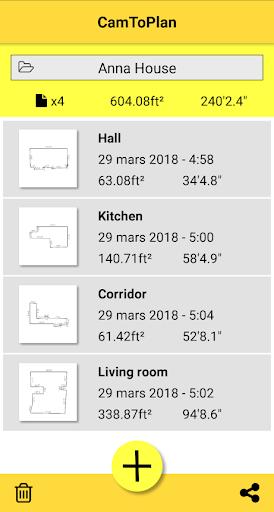 CamToPlan – AR measurement tape measure v3.4.3 screenshots 6