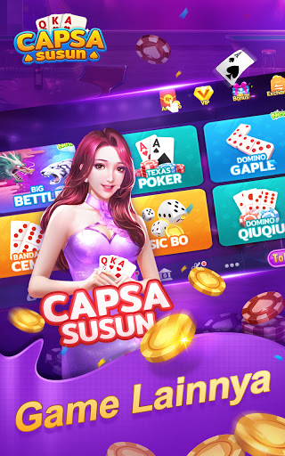 Capsa Susun OnlineDomino Gaple Poker Free v2.17.0.0 screenshots 5