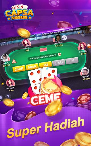 Capsa Susun OnlineDomino Gaple Poker Free v2.17.0.0 screenshots 9