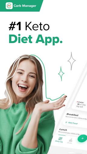 Carb Manager Keto Diet Tracker amp Macros Counter v7.0.35 screenshots 1