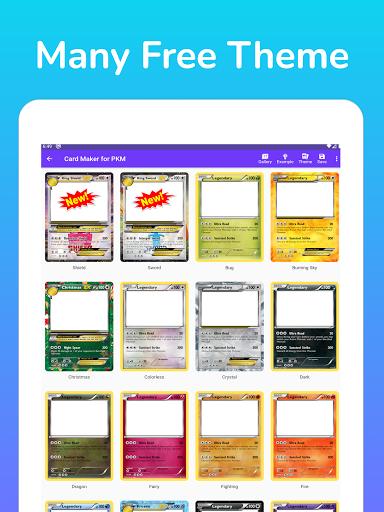 Card Maker for PKM v2.1.2 screenshots 6