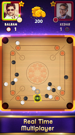 Carrom Clash Realtime Multiplayer Free Board Game v1.36 screenshots 9