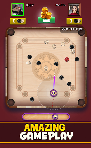 Carrom Club A Disc Pool Carrom Board Multiplayer v screenshots 9