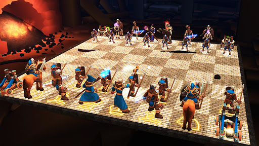 Chess 3D Animation Real Battle Chess 3D Online v6.1.1 screenshots 1
