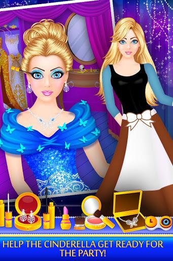Cinderella Beauty Makeover Princess Salon v1.8 screenshots 1