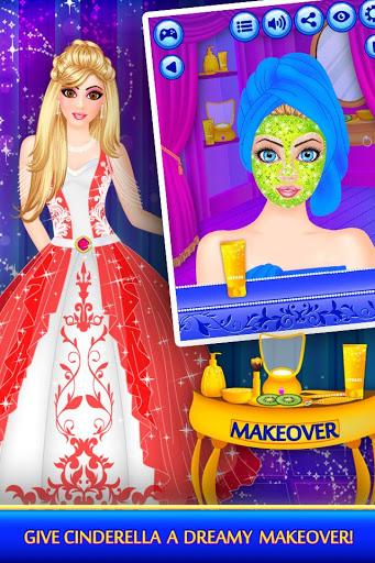 Cinderella Beauty Makeover Princess Salon v1.8 screenshots 2