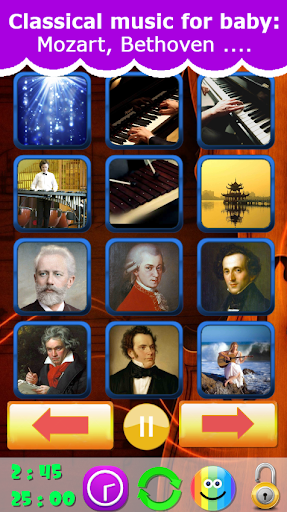 Classical music for baby 2019 v1.9 screenshots 1