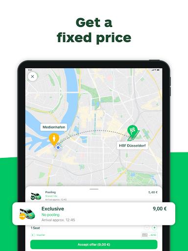 CleverShuttle Ridesharing Service v2.67.0 screenshots 11