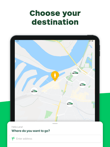 CleverShuttle Ridesharing Service v2.67.0 screenshots 4