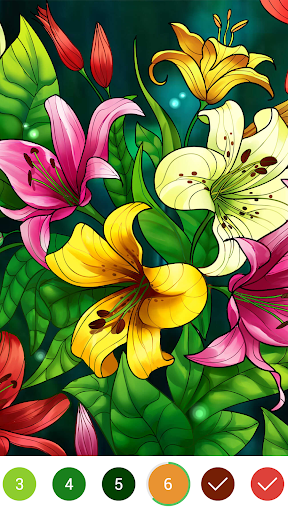 Coloring Book – Color by Number amp Paint by Number v2.0 screenshots 1