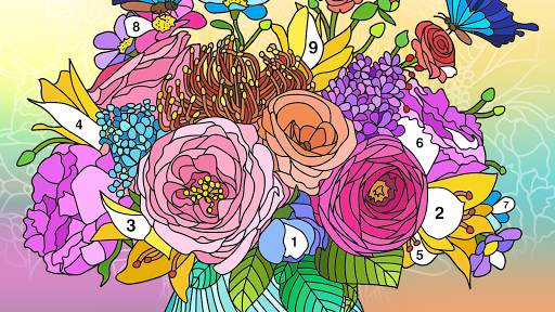 Coloring Book – Color by Number amp Paint by Number v2.0 screenshots 11