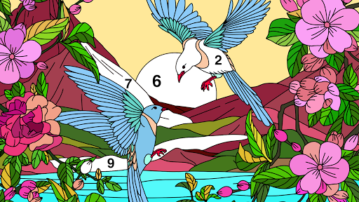 Coloring Book – Color by Number amp Paint by Number v2.0 screenshots 12