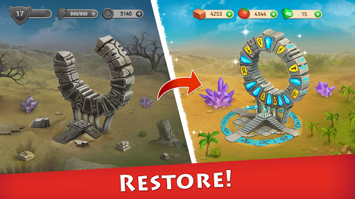 Cradle of Empires – Match 3 Games. Egypt jewels v6.8.5 screenshots 12