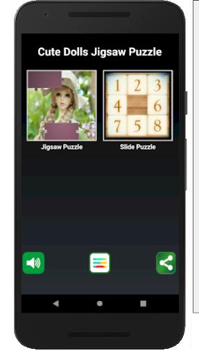 Cute Dolls Jigsaw And Slide Puzzle Game v1.51.7 screenshots 5