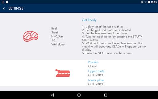 DeLonghi Livenza Grill v1.0.32 screenshots 17