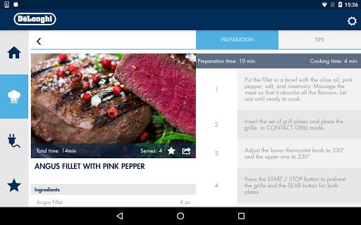 DeLonghi Livenza Grill v1.0.32 screenshots 19