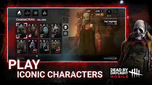 Dead by Daylight Mobile – Multiplayer Horror Game v4.6.1040 screenshots 5