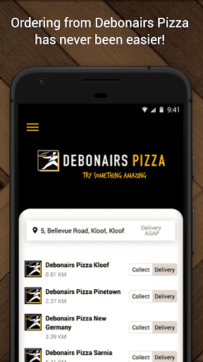 Debonairs Pizza v2.1.141 screenshots 1