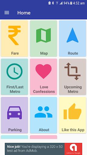 Delhi Metro Navigator – Fare Route Map Offline v10.0.56 screenshots 2