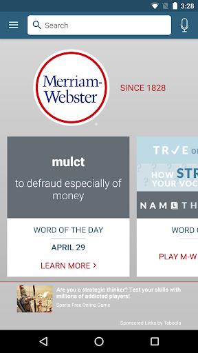 Dictionary – Merriam-Webster v5.1.0 screenshots 1