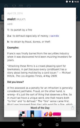 Dictionary – Merriam-Webster v5.1.0 screenshots 10