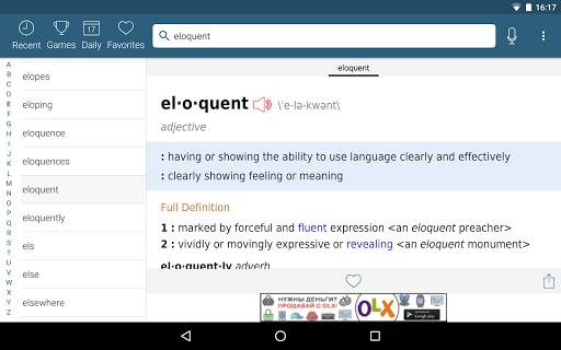 Dictionary – Merriam-Webster v5.1.0 screenshots 13