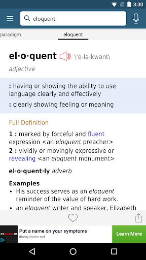 Dictionary – Merriam-Webster v5.1.0 screenshots 2
