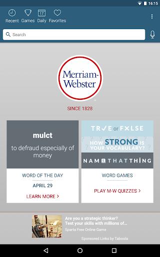 Dictionary – Merriam-Webster v5.1.0 screenshots 6