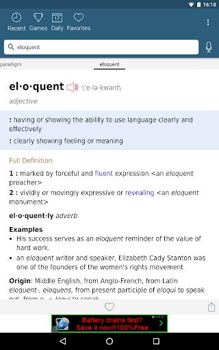 Dictionary – Merriam-Webster v5.1.0 screenshots 7