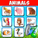 Download Animal sounds. Learn animals names for kids 6.6 APK