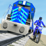 Download Bike vs. Train – Top Speed Train Race Challenge 10.1 APK