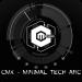 Download CMX – Minimal Tech Arc · KLWP Theme v1.0 APK