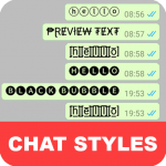 Download Chat Styles: Cool Font & Stylish Text for WhatsApp 8.3 APK