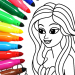 Download Coloring game for girls and women 16.2.8 APK
