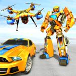 Download Drone Robot Car Game – Robot Transforming Games 1.2.5 APK