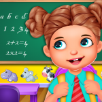 Download Emma Back To School Life: Classroom Play Games 4.0 APK