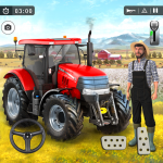 Download Farming Game 2021 – Free Tractor Driving Games 1.1.1 APK