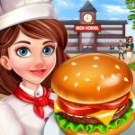 Download High School Café Girl: Burger Serving Cooking Game 2.4 APK