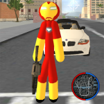 Download Iron Stickman Rope Hero Gangstar Crime 4.0 APK