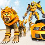 Download Lion Robot Car Transforming Games: Robot Shooting 1.8 APK