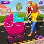 Download Virtual Mother New Baby Twins Family Simulator 2.1.9 APK