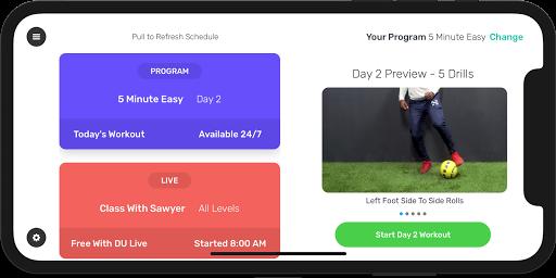 DribbleUp Soccer v5.71 screenshots 1