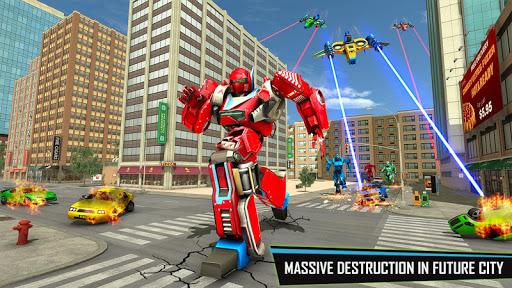 Drone Robot Car Game – Robot Transforming Games v1.2.5 screenshots 1